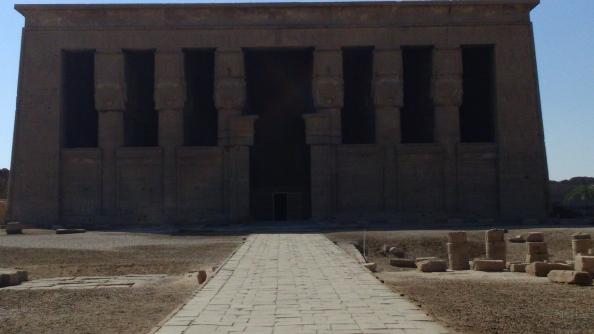 Rudy Rafael - Viagem ao Egito - O Templo de Hathor em Dendera