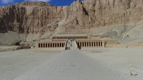 Rudy Rafael - Viagem ao Egito - O Templo de Hatshepsut em Deir el-Bahari