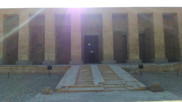 Rudy Rafael - Viagem ao Egito - O Templo de Seti I e o Osireion em Abydos