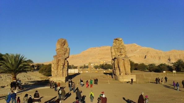 Rudy Rafael - Viagem ao Egito - Os Colossos de Memnon