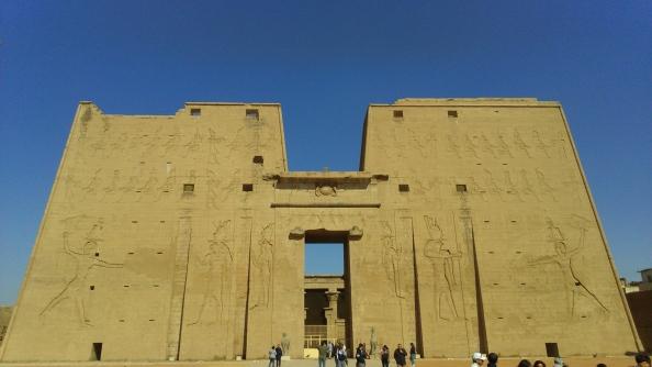 Rudy Rafael - Viagem ao Egito - O Templo de Hórus em Edfu
