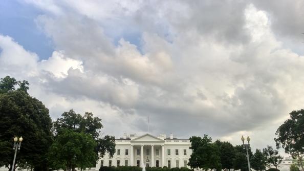 Rudy Rafael - Viagem aos Estados Unidos - A Casa Branca em Washington