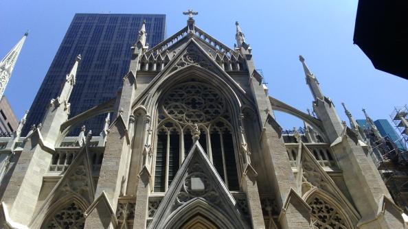 Rudy Rafael - Viagem aos Estados Unidos - A Catedral de São Patrício em New York