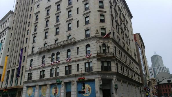 Rudy Rafael - Viagem aos Estados Unidos - A Grande Loja de Massachusetts em Boston