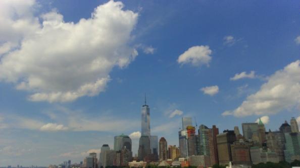 Rudy Rafael - Viagem aos Estados Unidos - A Torre da Liberdade em New York