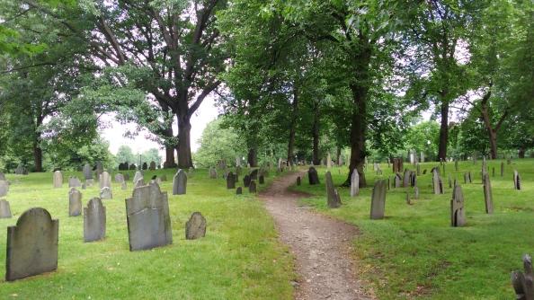 Rudy Rafael - Viagem aos Estados Unidos - O Central Burying Ground em Boston