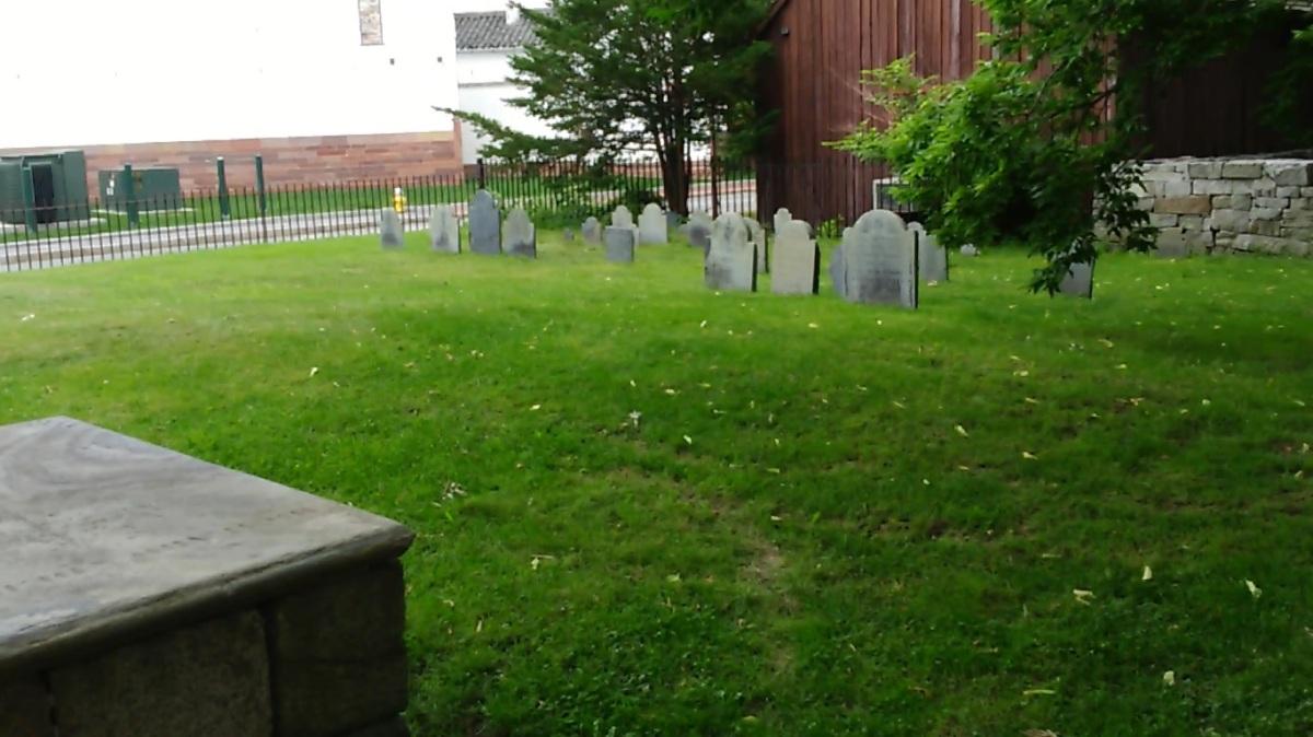 Vídeo de minha viagem aos Estados Unidos - Parte LXXVI: O The Burying Point em Salem